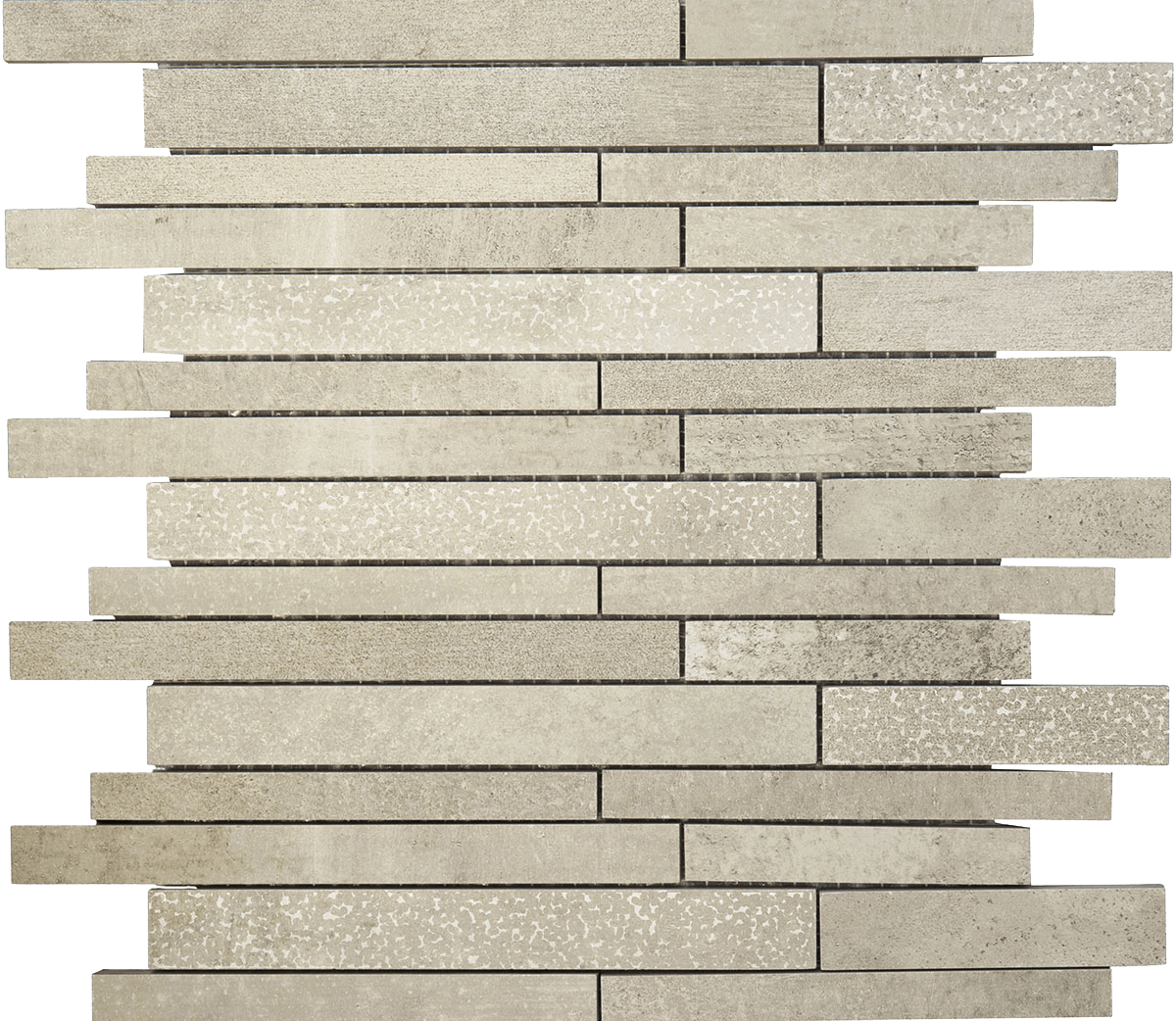 TRITON 29,7 x 29,7 grey anpoliert /Mauerverband Image