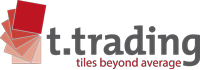 t.trading – the tile company Logo